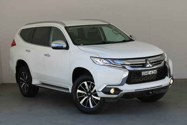 Used Mitsubishi Pajero Sport QE MY16 GLX Phillip, 2016 Mitsubishi Pajero Sport QE MY16 GLX White 8 Speed Sports Automatic Wagon