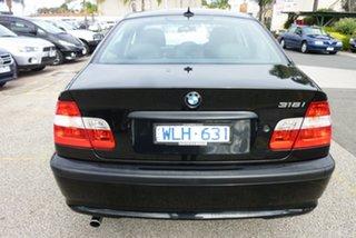2004 BMW 3 Series E46 MY2004 318i Steptronic Black 5 Speed Sports Automatic Sedan