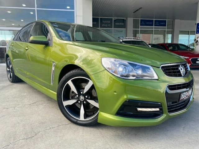 Used Holden Commodore VF MY15 SS Melton, 2015 Holden Commodore VF MY15 SS Green 6 Speed Sports Automatic Sedan