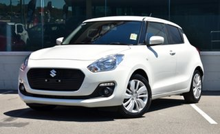 2021 Suzuki Swift AZ Series II GL Navigator Plus Pure White 1 Speed Constant Variable Hatchback