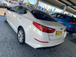 2015 Kia Optima SI White Sports Automatic Sedan