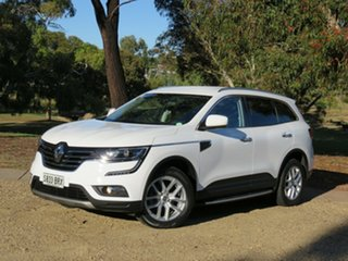 2017 Renault Koleos HZG Zen X-tronic White 1 Speed Constant Variable Wagon