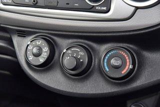 2013 Toyota Yaris NCP130R YR White 5 Speed Manual Hatchback
