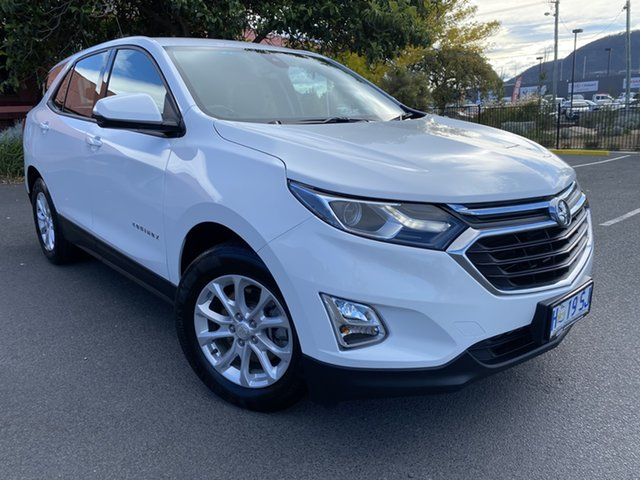 Used Holden Equinox EQ MY18 LS+ FWD Glenorchy, 2018 Holden Equinox EQ MY18 LS+ FWD White 6 Speed Sports Automatic Wagon