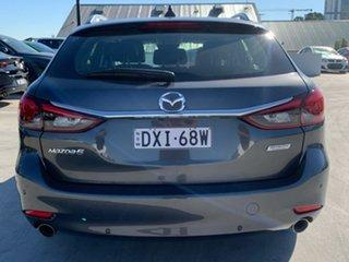 2018 Mazda 6 GL1031 Touring SKYACTIV-Drive Machine Grey 6 Speed Sports Automatic Wagon.