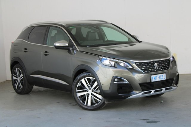 Used Peugeot 3008 P84 MY18 GT SUV Phillip, 2018 Peugeot 3008 P84 MY18 GT SUV Amazonite 6 Speed Sports Automatic Hatchback