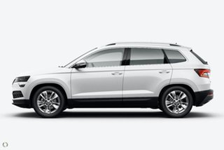 2021 Skoda Karoq NU MY21 110TSI FWD White 8 Speed Automatic Wagon.