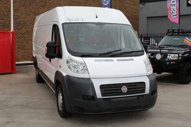 Used Fiat Ducato Hoppers Crossing, 2012 Fiat Ducato LWB MEDIUM ROOF White Manual Van