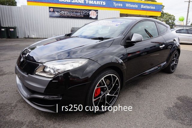 Used Renault Megane III D95 R.S. 250 Cup Trophee Dandenong, 2012 Renault Megane III D95 R.S. 250 Cup Trophee Star Black 6 Speed Manual Coupe