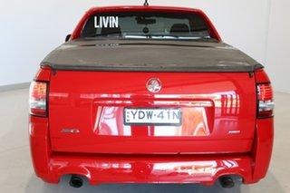 2016 Holden Ute VF II MY16 SV6 Ute Black Red 6 Speed Manual Utility