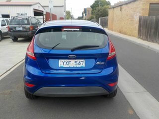 2012 Ford Fiesta WT CL Blue 6 Speed Automatic Sedan