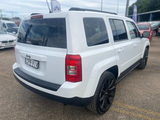 2013 Jeep Patriot MK MY14 Sport 4x2 White 6 Speed Sports Automatic Wagon