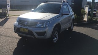 2014 Suzuki Grand Vitara JB Navigator Silver 5 Speed Manual Hardtop