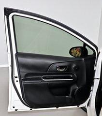 2017 Toyota Prius c NHP10R E-CVT White 1 Speed Constant Variable Hatchback Hybrid