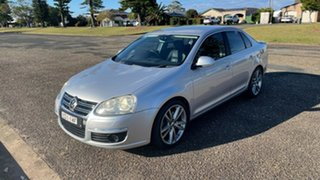 2008 Volkswagen Jetta 1KM MY08 FSI Tiptronic Silver 6 Speed Sports Automatic Sedan.