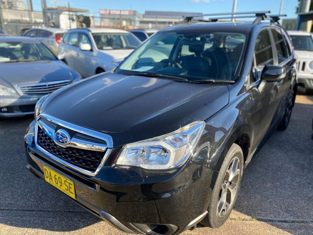Used Subaru Forester S4 MY15 2.5i-S CVT AWD Wickham, 2015 Subaru Forester S4 MY15 2.5i-S CVT AWD Black 6 Speed Constant Variable Wagon
