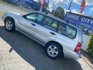 2003 Subaru Forester XS - Luxury Silver Manual Wagon
