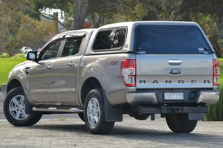 2012 Ford Ranger PX XLT Double Cab Gold 6 Speed Sports Automatic Utility.