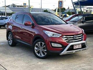 2012 Hyundai Santa Fe DM MY13 Highlander Red 6 Speed Sports Automatic Wagon.