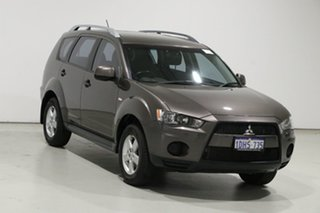 2010 Mitsubishi Outlander ZH MY10 LS Brown 6 Speed CVT Auto Sequential Wagon