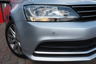 2015 Volkswagen Jetta 1B MY15 118TSI DSG Trendline Silver 7 Speed Sports Automatic Dual Clutch Sedan.