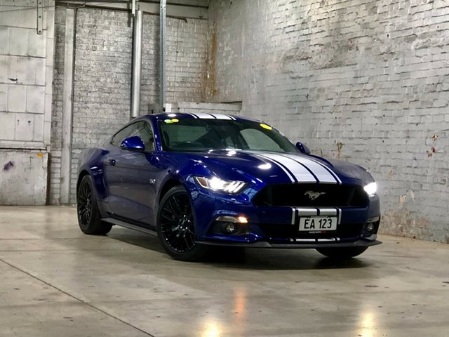 Used Ford Mustang FM GT Fastback SelectShift Mile End South, 2016 Ford Mustang FM GT Fastback SelectShift Blue 6 Speed Sports Automatic Fastback