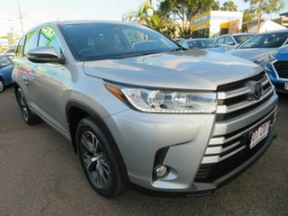 2019 Toyota Kluger GSU55R GX AWD Silver 8 Speed Sports Automatic Wagon.