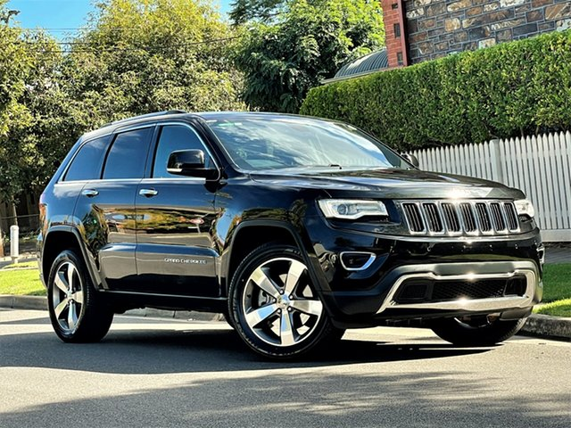 Used Jeep Grand Cherokee WK MY15 Limited Hyde Park, 2015 Jeep Grand Cherokee WK MY15 Limited Black 8 Speed Sports Automatic Wagon