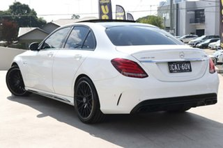 2015 Mercedes-Benz C-Class W205 C63 AMG SPEEDSHIFT MCT S Polar White 7 Speed Sports Automatic Sedan.
