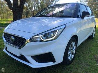 2021 MG MG3 (No Series) Core White Automatic Hatchback.