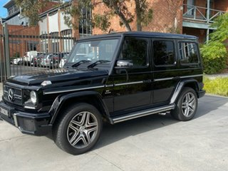 2018 Mercedes-Benz G-Class W463 MY808 G63 AMG SPEEDSHIFT PLUS 4MATIC Black 7 Speed Sports Automatic