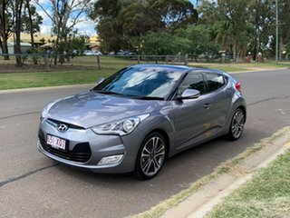 2016 Hyundai Veloster FS4 Series 2 Grey 6 Speed Auto Dual Clutch Coupe