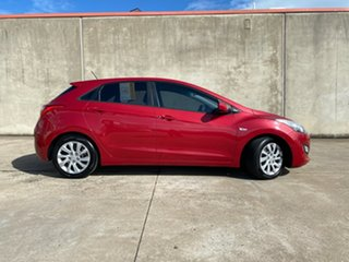 2014 Hyundai i30 GD2 Active Red 6 Speed Sports Automatic Hatchback.