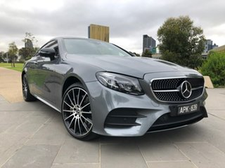 2017 Mercedes-Benz E-Class C238 E300 9G-Tronic PLUS Grey 9 Speed Sports Automatic Coupe.