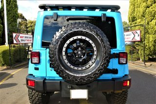 2018 Jeep Wrangler JL MY18 Unlimited Rubicon Blue 8 Speed Automatic Softtop