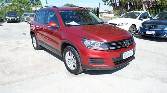 Used Volkswagen Tiguan 5N MY14 118TSI DSG 2WD St James, 2013 Volkswagen Tiguan 5N MY14 118TSI DSG 2WD Red 6 Speed Sports Automatic Dual Clutch Wagon