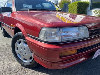 1992 Toyota Camry SV21 CSi Red 4 Speed Automatic Sedan.