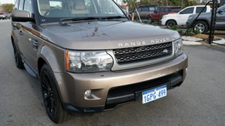 2010 Land Rover Range Rover Sport L320 11MY TDV6 Luxury Bronze 6 Speed Sports Automatic Wagon
