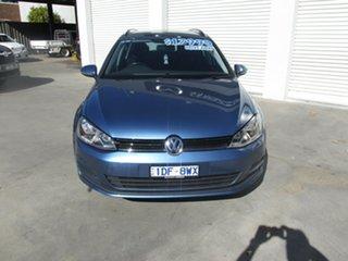 2015 Volkswagen Golf VII MY15 90TSI DSG Blue 7 Speed Sports Automatic Dual Clutch Wagon.
