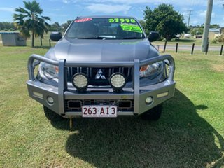 2016 Mitsubishi Triton Grey 6 Speed Automatic Dual Cab.