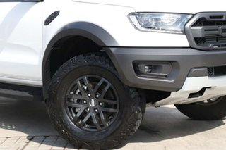 2019 Ford Ranger PX MkIII 2019.75MY Raptor Arctic White 10 Speed Sports Automatic Double Cab Pick Up