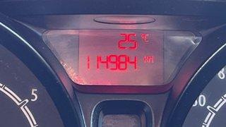 2012 Ford Fiesta WT LX Chilli Orange 5 Speed Manual Sedan