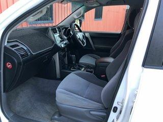 2012 Toyota Landcruiser Prado KDJ150R GXL White 5 Speed Sports Automatic Wagon