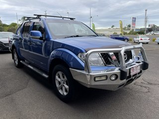 2012 Nissan Navara D40 S6 MY12 ST Blue 6 Speed Manual Utility