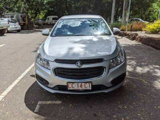 2015 Holden Cruze JH Series II MY16 Equipe Silver 6 Speed Sports Automatic Sedan.