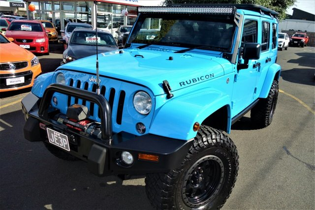 Used Jeep Wrangler JL MY18 Unlimited Rubicon Seaford, 2018 Jeep Wrangler JL MY18 Unlimited Rubicon Blue 8 Speed Automatic Softtop