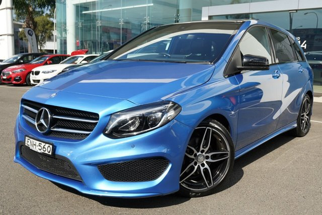 Used Mercedes-Benz B200 246 MY16 Brookvale, 2016 Mercedes-Benz B200 246 MY16 South Seas Blue 7 Speed Auto Direct Shift Hatchback