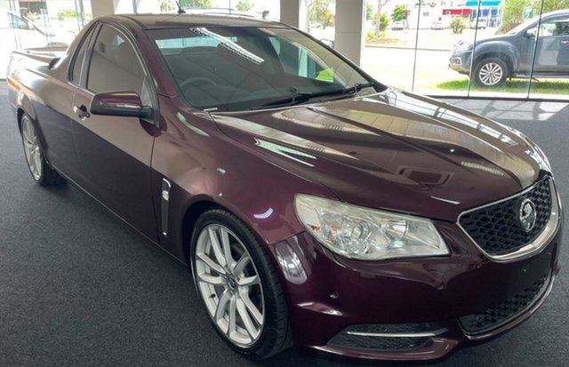 Used Holden Ute VF MY14 SV6 Ute Winnellie, 2013 Holden Ute VF MY14 SV6 Ute Purple 6 Speed Sports Automatic Utility