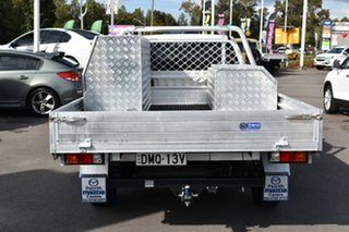 2017 Mazda BT-50 UR0YE1 XT 4x2 White 6 Speed Manual Cab Chassis