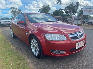 2012 Holden Commodore VE II MY12 Equipe Red 6 Speed Sports Automatic Sedan.